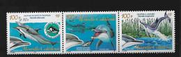 EA Nouvelle-Calédonie ** 2005 965 966 967 Faune Marine  Cétacés Dauphins - Neufs