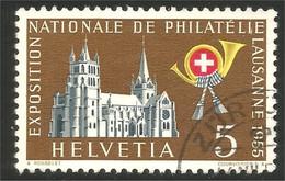 842 Suisse 1955 Cathédrale Lausanne Catedral (SUI-143) - Kirchen U. Kathedralen