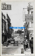 167915 CHILE SANTIAGO STREET CALLE ESTADO POSTAL POSTCARD - Chile