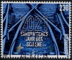 Europäisches Jahr Der Schiene 2021 Österreich 2021 Gestempelt/used - 2011-... Afgestempeld