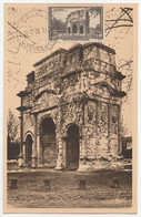 Carte Maximum France N°389 Arc De Triomphe D'Orange 15/12/38 TBE - 1930-39
