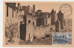 Carte Maximum  FRANCE 1941 -  CARCASSONNE17/05/41 TBE - 1940-49