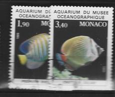 MONACO Yv 1541/2 Obli - - Used Stamps