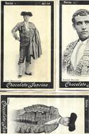 3 CHROMOS   CORRIDA  TOREADOR   SERIE 1  N 14  ANTONIO REVERTE N 13 LUIS MAZZANTINI N  21 VILLITA   CHOCOLATE JUNCOSA - Andere