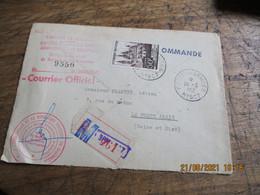 Lot 2 Lettre Haut Commissariat Republique En Allemagne Poste Aux Armees N 507 Et 1 Etoile Recommande - 1921-1960: Période Moderne