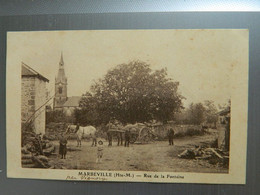 MARBEVILLE                  RUE DE LA FONTAINE - Other Municipalities