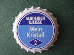 Brauerei. G.Schneider & Sohn, TAP 2 - 1 Kronkorken, Capsule Neuve, Crowncaps New - - Birra