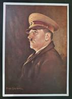 """Deutsches Reich 1942, Postkarte """"Adolf Hitler"""" MÜNCHEN Sonderstempel - Storia Postale"""
