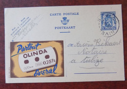 """EP Belgique Publibel 549 """" Partout Olinda """" - Nivelles Vers Tubize 1944 - Publibels"""