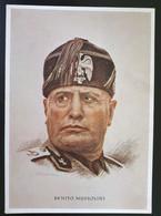 Deutsches Reich 1940, Postkarte BENITO MUSSOLINI Sonderstempel MÜNCHEN - Storia Postale
