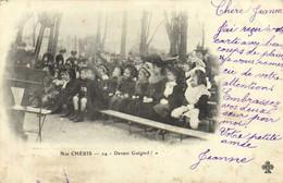 Nos CHERIS  Devant Guignol ! Pionnière - Groupes D'enfants & Familles
