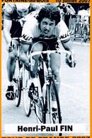CYCLISME: CYCLISTE : LES 29 NORDISTES DU TOUR DE FRANCE 1947/2007 PHOTO KODAK:HENRI PAUL FIN - Cycling