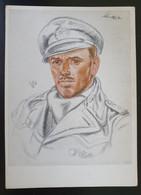 """Deutsches Reich 1942, Postkarte """"Unsere U-Boot-Waffe"""" Kapitänleutnand Schülze MÜNCHEN Sonderstempel - Covers & Documents"""