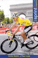 CYCLISME: CYCLISTE :CARLOS SASTRE - Cycling