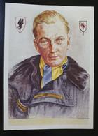 """Deutsches Reich, Postkarte """"Männer Der Luftwaffe"""" Major Doench - Ungebraucht - Storia Postale"""