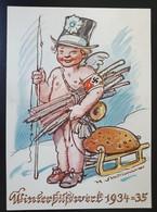 """Deutsches Reich 1934/35, Postkarte """"Winterhilfswerk"""" - Ungebraucht - Covers & Documents"""