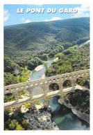 30 - Le Pont Du Gard - Vue Aérienne - Non Classés