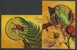 Grenadines Of St Vincent - 2005 - N°Mi. 2 Blocs - Papillon / Butterfly - Neuf Luxe ** / MNH / Postfrisch - Butterflies