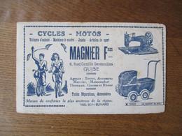 GUISE MAGNIER FRERES CYCLES-MOTOS 6 RUE CAMILLE DESMOULINS AGENCE TERROT,AUTOMOTO,MERCIER,MOTOCONFORT,THOMANN,GNOME ET R - Shoes