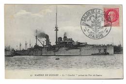 34 SM - SALON DE LA MARINE 1944 - LE COURBET - Cachet à Date 3 Juin 1944 - Posta Marittima