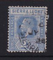 Sierra Leone: 1921/27   KGV     SG135     2½d       Used - Sierra Leona (...-1960)