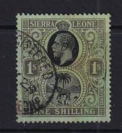 Sierra Leone: 1921/27   KGV     SG143     1/-       Used - Sierra Leona (...-1960)