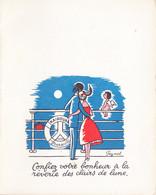 Illustration De MENU Par PEYNET  En 1958 ((1 - Peynet