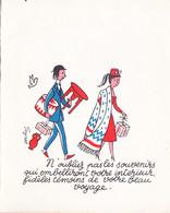 Illustration De MENU Par PEYNET  En 1958 ((2 - Peynet