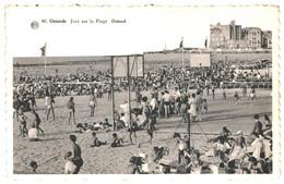 CPA - Carte Postale-Belgique-Ostende Jeux Sur Plage    VM36344 - Oostende