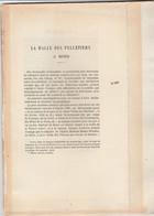 Mons , La  Halle Des Pelletiers à Mons , Ernest Matthieu , 20 Pages , Extrait D'un Livre Ancien - België
