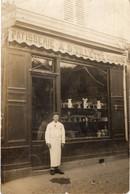 Carte Photo : Devanture De Magasin Patisserie A. D. Villette à Montgeron ( Grande Rue ) - Montgeron