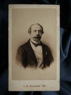 Photo CDV Neurdein à Paris - L'empereur Napoléon III, Circa 1865 L561 - Antiche (ante 1900)