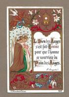 IMAGE PIEUSE.. édit. Blanchard à Orléans N 2007.. Communion Maurice BOUTRY, Paroisse Ecole Massillon PARIS, En 1885 - Santini
