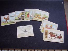 Lot Chromos Images Vignettes Chocolat Jacques *** Moyens De Transport *** - Sammelbilderalben & Katalogue