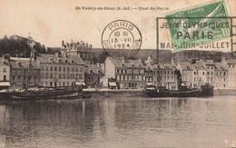 SAINT VALERY EN CAUX : QUAI DU HAVRE - Saint Valery En Caux