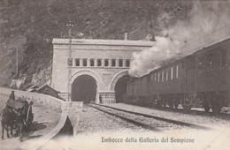Sempione Railroad Italy Old Postcard - Altri