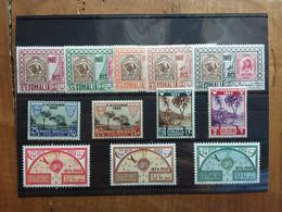 SOMALIA AFIS - 3 Serie Complete Anno 1953 - Nuovi ** + Spese Postali - Somalie (AFIS)