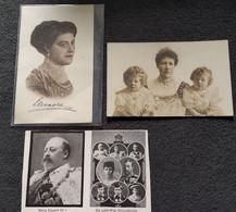 DC5827 - Ak Lot Adel 3 Karten Königshäuser König Eduard U.a. - Royal Families