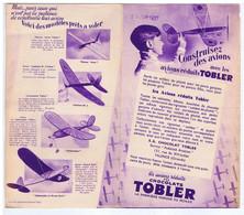 GIRONDE - TALENCE - Las Avions Réduits Des Chocolats TOBLER - 131 Rue Du XIV Juillet - Advertising