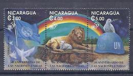 210040370  NICARAGUA.  YVERT   Nº   2016/8  **/MNH - Nicaragua