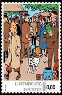Timbre Privé** - Kuifje / Tintin - Milou / Bobbie - Haddock - Le Secret De Le Licorne / Het Geheim Van De Eenhoorn (p.3) - Bandes Dessinées