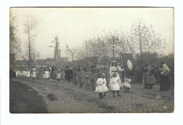 Westkapelle  Fotokaart   Processie  Cortège 1912 Photo Louis D'Hondt,Knocke S/mer - Knokke