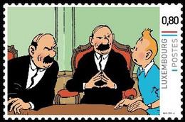 Timbre Privé** - Kuifje / Tintin - Milou / Bobbie - Haddock - Dupond & Dupont / Jansen En Janssen / Schulze Und Schultz - Bandes Dessinées