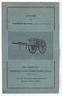 GIRONDE - Usine De CARBON-BLANC - ( Charrettes ) - Advertising