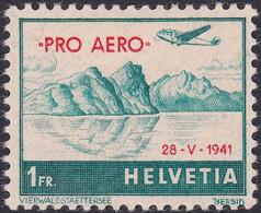 SUISSE, 1941, Vol à Bayern (Yvert 34A) - Nuevos