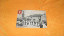 CARTE POSTALE ANCIENNE CIRCULEE DE 1911../ UXEGNEY VOSGES.- LE CENTRE...CACHETS + TIMBRE - Other Municipalities