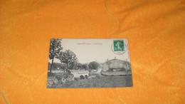 CARTE POSTALE ANCIENNE CIRCULEE DE 1912../ UXEGNEY VOSGES.- LE FAUBOURG...CACHETS + TIMBRE - Other Municipalities