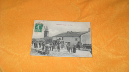 CARTE POSTALE ANCIENNE CIRCULEE DE 1912../ UXEGNEY VOSGES.- LE CENTRE...CACHETS + TIMBRE - Other Municipalities