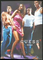 GUESS Jeans Fashion Carte Postale - Advertising