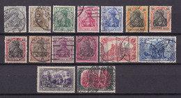 Germany - Reich 1875/1919 - 1915 Year _ Michel 84/93+94/97 - Used - 80 Euro - Used Stamps
